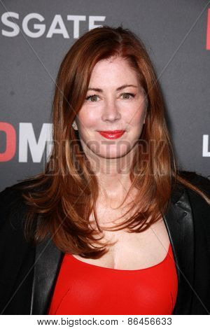 LOS ANGELES - MAR 25:  Dany Delany at the Mad Men Black & Red Gala at the Dorthy Chandler Pavillion on March 25, 2015 in Los Angeles, CA