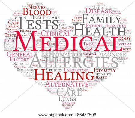 Medical Word Cloud