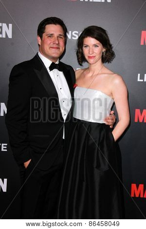 LOS ANGELES - MAR 25:  Rich Sommer at the Mad Men Black & Red Gala at the Dorthy Chandler Pavillion on March 25, 2015 in Los Angeles, CA