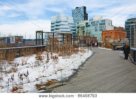 The Manhattan New York High Line Park