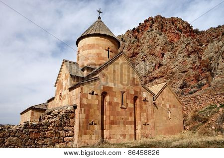 Backside Wall Of Surb Karapet (st. John The Baptist) Church,noravank Monastery, Armenia,central Asia