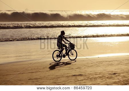 Girl On A Bicycles