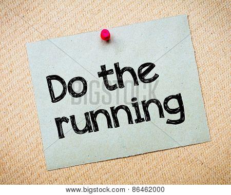 Do The Running