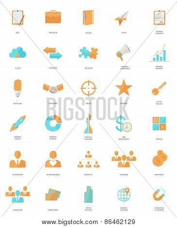 30 Business Web Icons