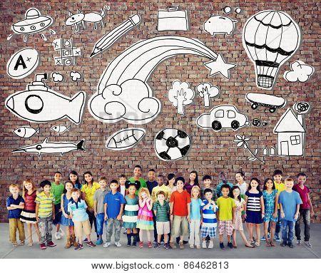Hobby Imagination Fun Creativity Activity Inspiration Concept