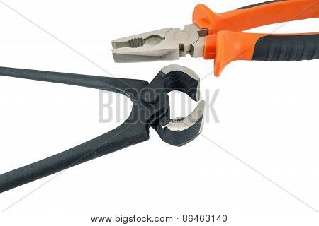 Rusty Pincers And Pliers