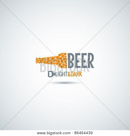 beer bottle opener background