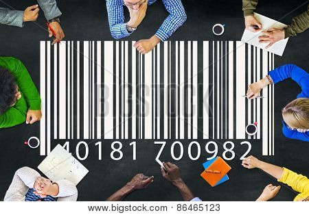 Barcode Marketing Concept