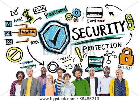 Ethnicity People Teamwork Togetherness Security Protection Concept