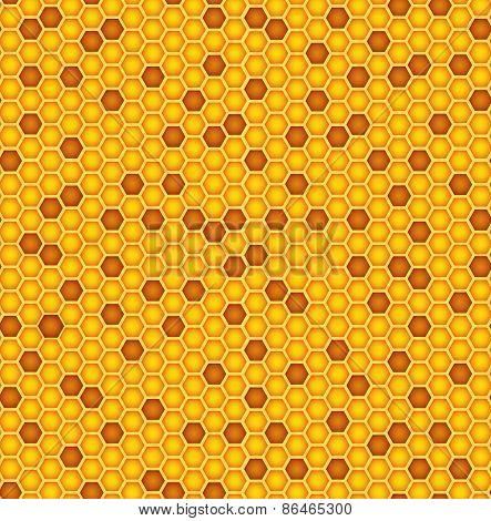 Honeycomb Texture Background