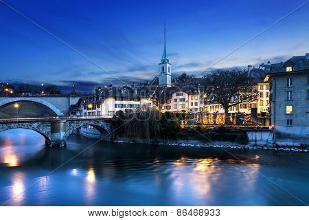 Bern City By Night