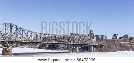 Alexandria Bridge in Ottawa, Canada