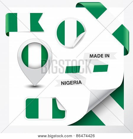 Nigeria Made In Flag Collection