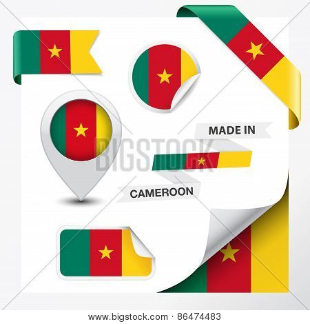 Cameroon Made In Flag Collection