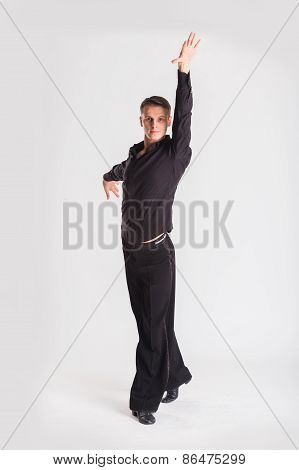 Man Dancer ballroom dancing