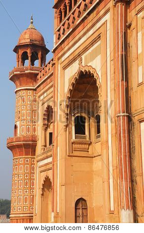 Closeup Of Facade Of Safdarjung Tomb, New Delhi, India