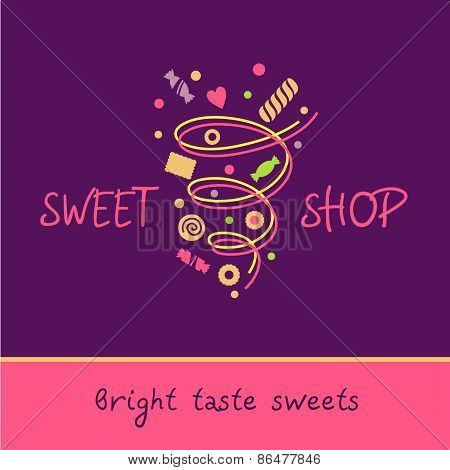 Pastry Shop. Bright taste sweets