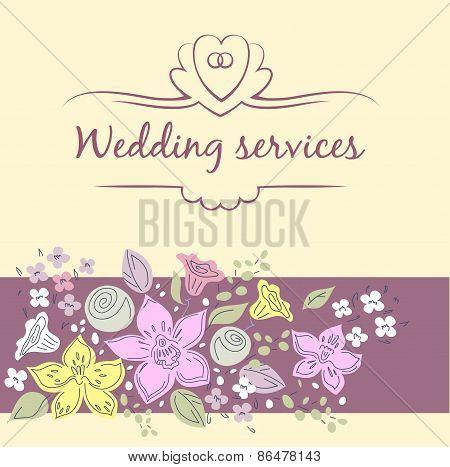 Wedding service.