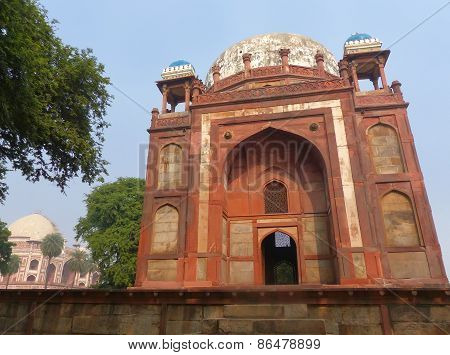 Tomb Of Baraber At Humayun's Tomb Complex, Delhi, India