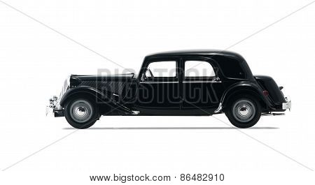 Black Retro Car