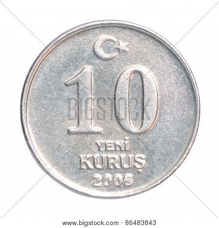 Turkish Kurus Coin