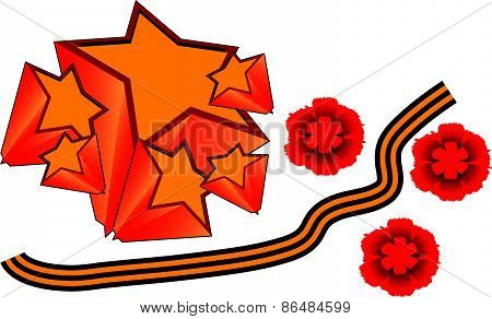 Vector illustration of the Victory Day