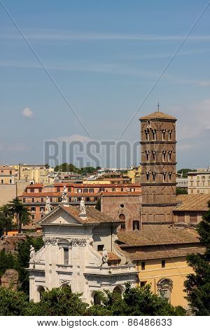 Santa Francesca Romana In Rome, Italy