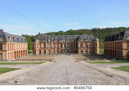 Ile De France, The Castle Of Dampierre In Les Yvelines