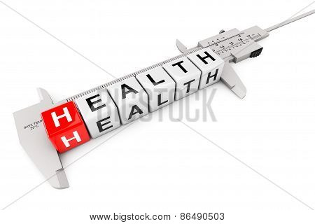 Caliper Measure Health Cubes