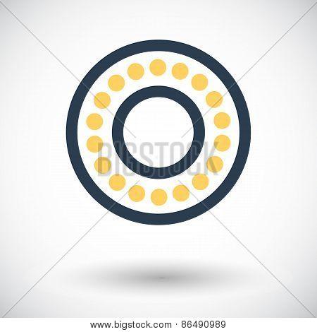 Icon bearing.