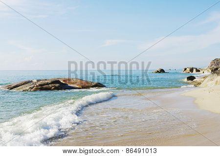 Lamai beach, Koh Samui, Thailand.