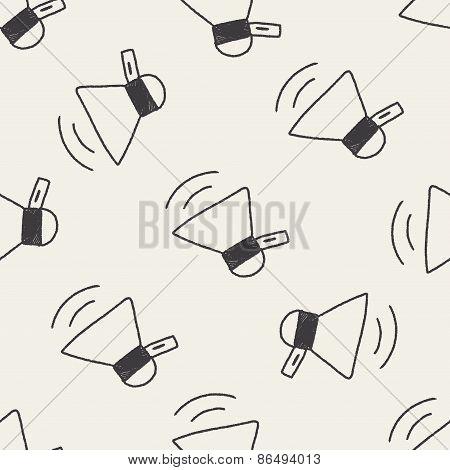 Loudspeaker Doodle Drawing