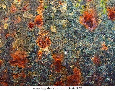 Rusty texture for backgrounds