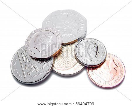 British Pound Coins GBP