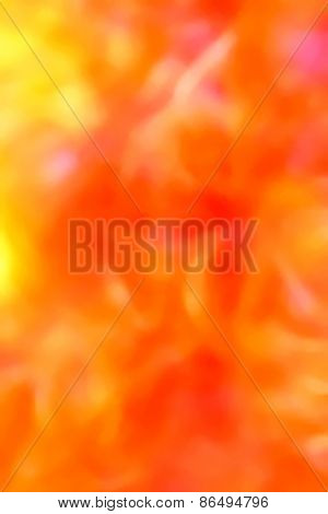 Nice fresh summery orange background