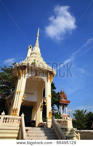 Crematory Or Pyre In Thai Temple
