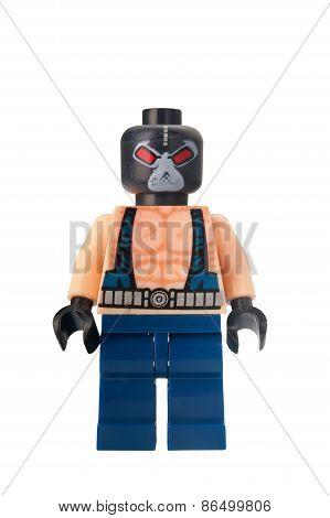 Bane Custom Lego Minifigure