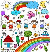 image of moon-flower  - kids - JPG