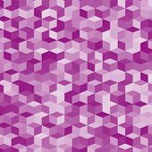stock photo of violets  - Abstract background made of small violet cubes - JPG
