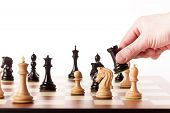 foto of chess piece  - Playing chess  - JPG