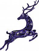picture of deer  - Deer illustration - JPG