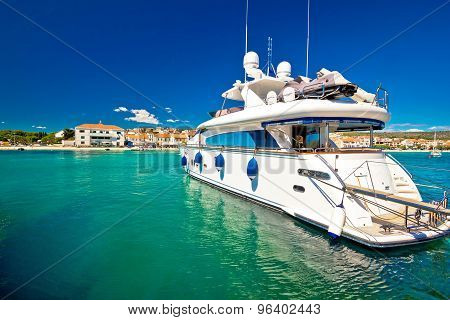 Yachting In Tourist Destination Of Primosten