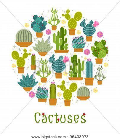 Cactus label