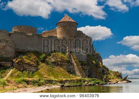 Ancient Fortress In Belgorod Dniester.