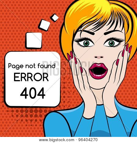 Page not found vector illustration