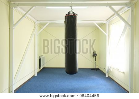 Interior of a boxing hall