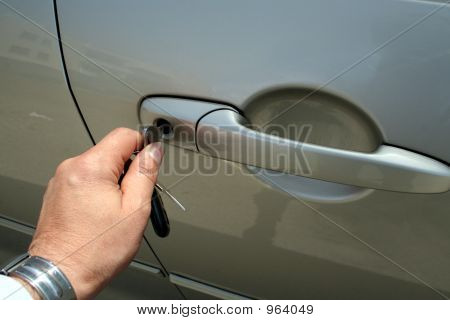 Unlocking Or Locking A Car