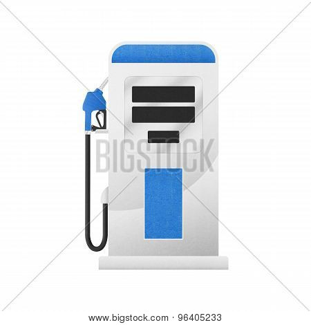 Gasoline Pump In Gas Station