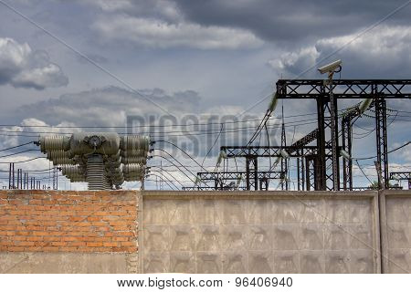 Industrial Electrical Substation