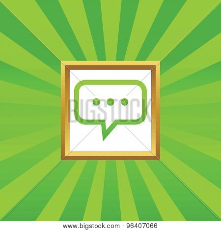 Typing picture icon